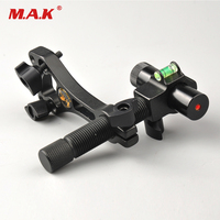 Specialized Laser Singhting Tool Compound Bow Laser Sight Aluminum Archery Center Laser Aligner with 360 Degree Rotating Head