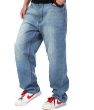 2016 Новых Мужчин джинсы случайные свободные джинсы большой размер 30-46 бесплатная доставка