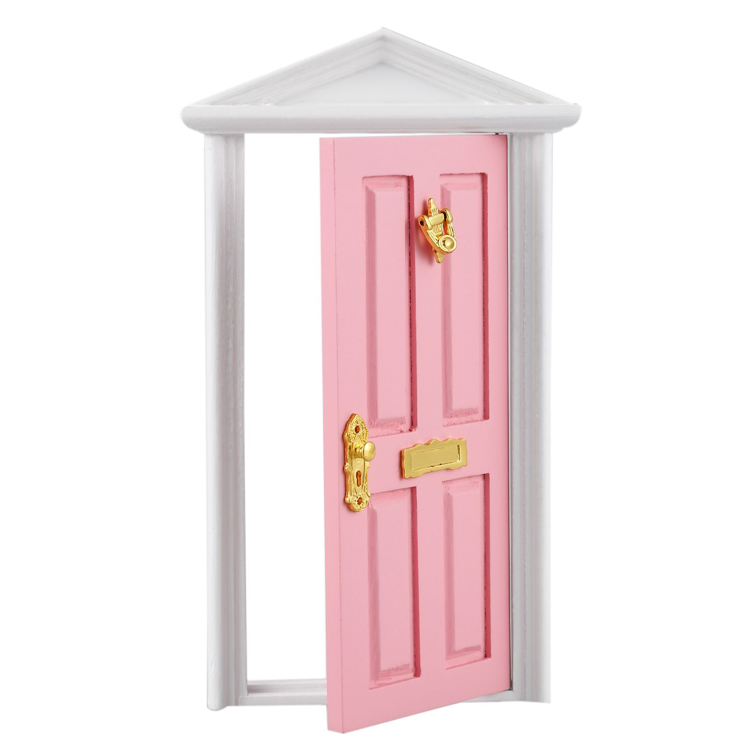 Miniature Doll Houses Games Toys Wooden Door With Hardware