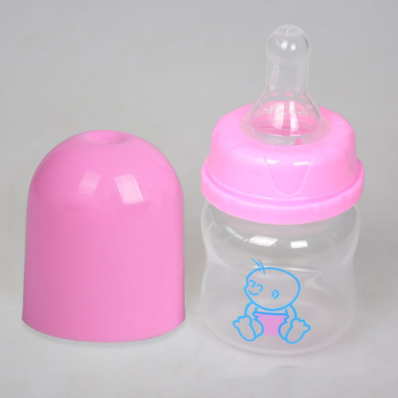 60ml Milk Powder Feeding Bottle Nursing Care 0-6M Baby Small PP Bottle Safe