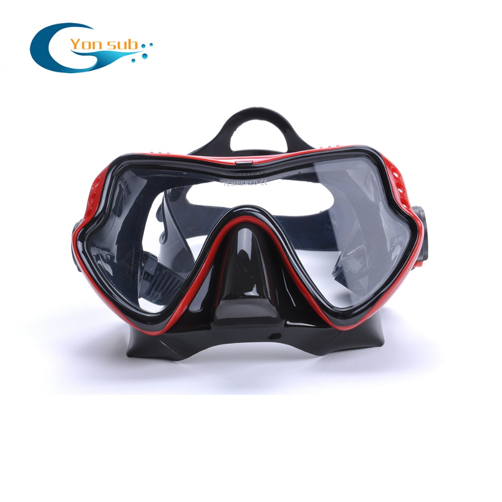 Profesjonalna silikonowa maska nurkowa Podwodne łowiectwo - Sporty wodne - Zdjęcie 1