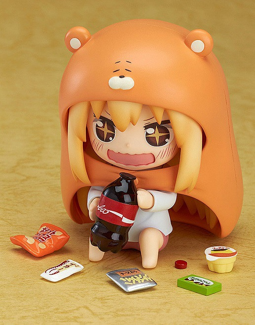 10cm Himouto Umaru-chan Nendoroid Umaru #524 Anime Action Figure PVC toys Collection figures for friends gifts 37