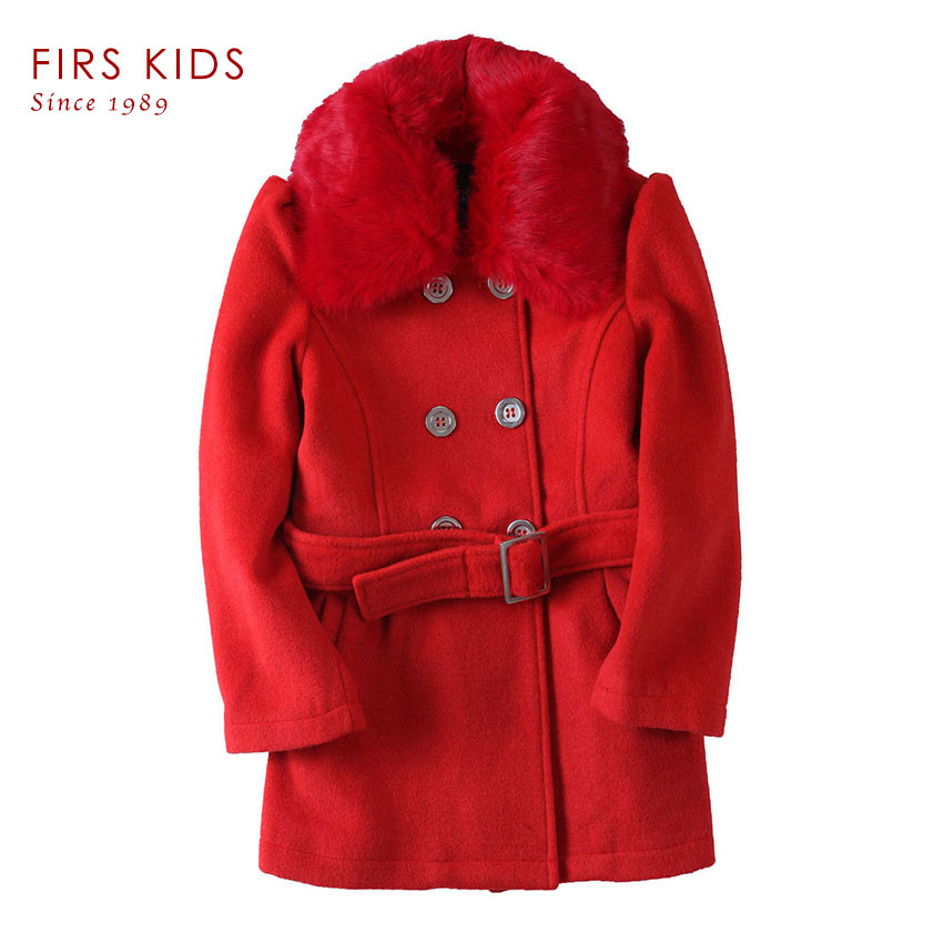 Children Winter Clothing Coat For Girl Wool Down Jackets For Girls Baby Woolen Jacket Outerwear Kids Thicken Clothes Coats Parka