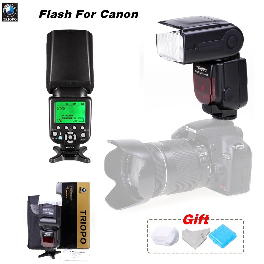 Triopo TR-586EX Wireless TTL Speedlite Flash Hot shoe flash Universal flash auto flash For Canon EOS 6d 60d 550d 650d 5d3 1200d