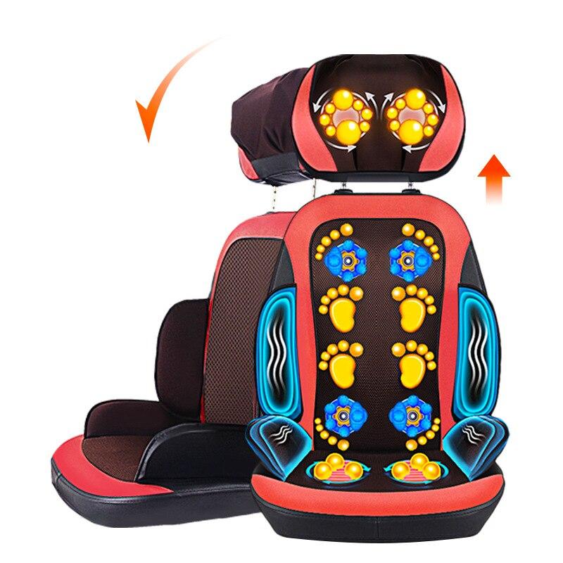 Массажное кресло Электрический массажер для Средства ухода за кожей Шеи сзади Рождественский подарок коробка новый год товары massageador релак
