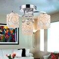 Пульт дистанционного управления Современной потолочные светильники для гостиной Спальня прихожая домой потолочный светильник акриловая железный корпус СВЕТОДИОДНЫЙ потолочный Светильник