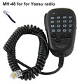 DTMF MH-48 Car Walkie Talkie Speaker Mic for Yeasu Mobile Radio FT-2800M FT-7100M FT-7800R FT-7900R FT-1807 FT-2900R FT-8800