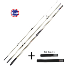 4.5M Partial Fuji Accessorie 250G lure weight 3-sections Carbon SURF rod Distance Throwing Rod Intervene throwing casting rod