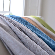 byetee Blackout Curtains For Living Room Custom Linen Solid Color Thick Simple Modern Curtain Bedroom