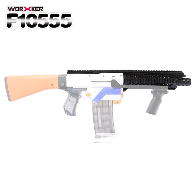 Worker f10555 3D Printing Viper Front Tube Kit for Nerf Professional Toy Gun  Accessories - Black