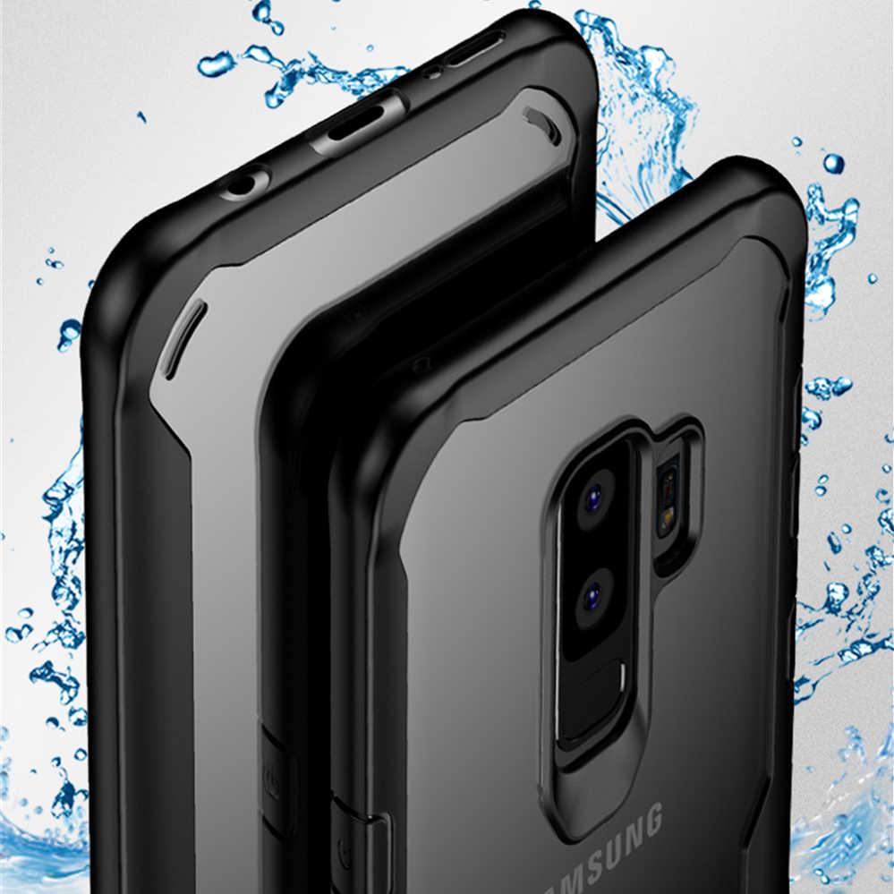 Роскошный защитный чехол для Samsung Galaxy S8 S9 S10 Plus S10E 5G противоударный прозрачный чехол Note 8 9 Мягкий силиконовый чехол-бампер