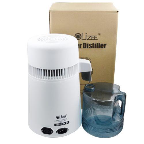 Olizee 4L нержавеющая сталь чистая вода дистиллятор фильтр дистиллированная вода нержавеющая