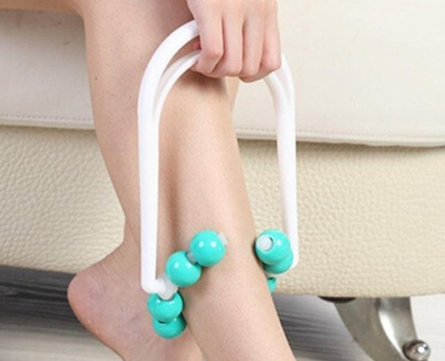 100pcs/lot Leg Slimming Roller Massage Leg Relaxation Anti-Cs