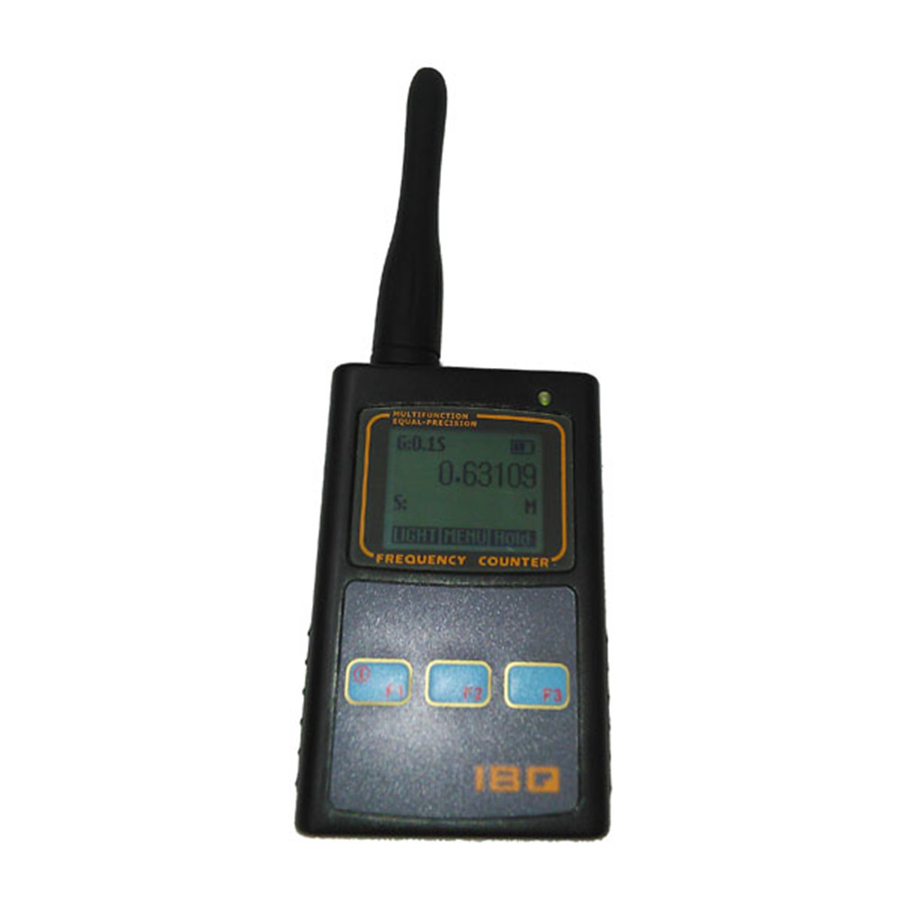 IBQ102 Handheld Digital Frequency Counter Meter Wide Range 10Hz-2.6GHz For Baofeng Radio Portable Frequency Meter