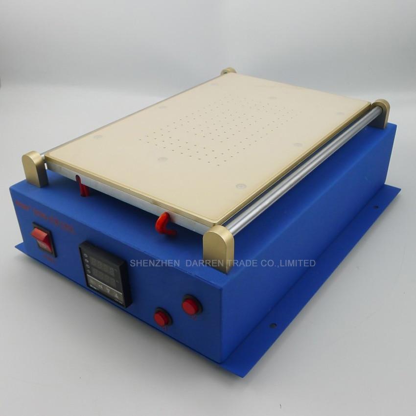 1 pz Built In Doppia Pompa A Vuoto 14 pollice per i Pad per il telefono Diviso Separatore di Riparazione Dello Schermo di Vetro A CRISTALLI LIQUIDI macchina per Tablet PC - 3