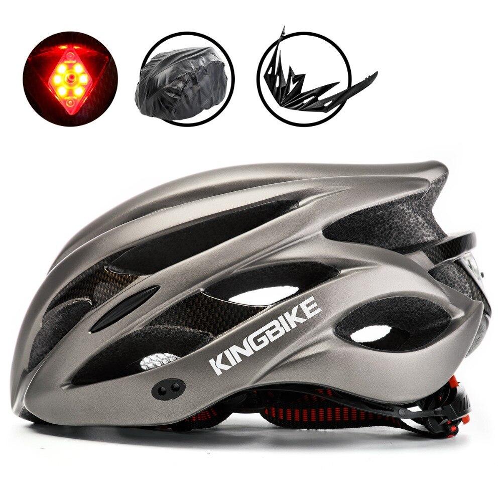 BASECAMP Bicycle Helmet Titanium Ultralight In-mold Cycling Helmet With Visor Breathable Road Mountain MTB Outdoor Bike Helmet