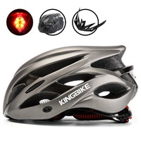 BASECAMP Bicycle Helmet Titanium Ultralight In Mold Cycling Helmet With Visor Breathable Road Mountain MTB Outdoor