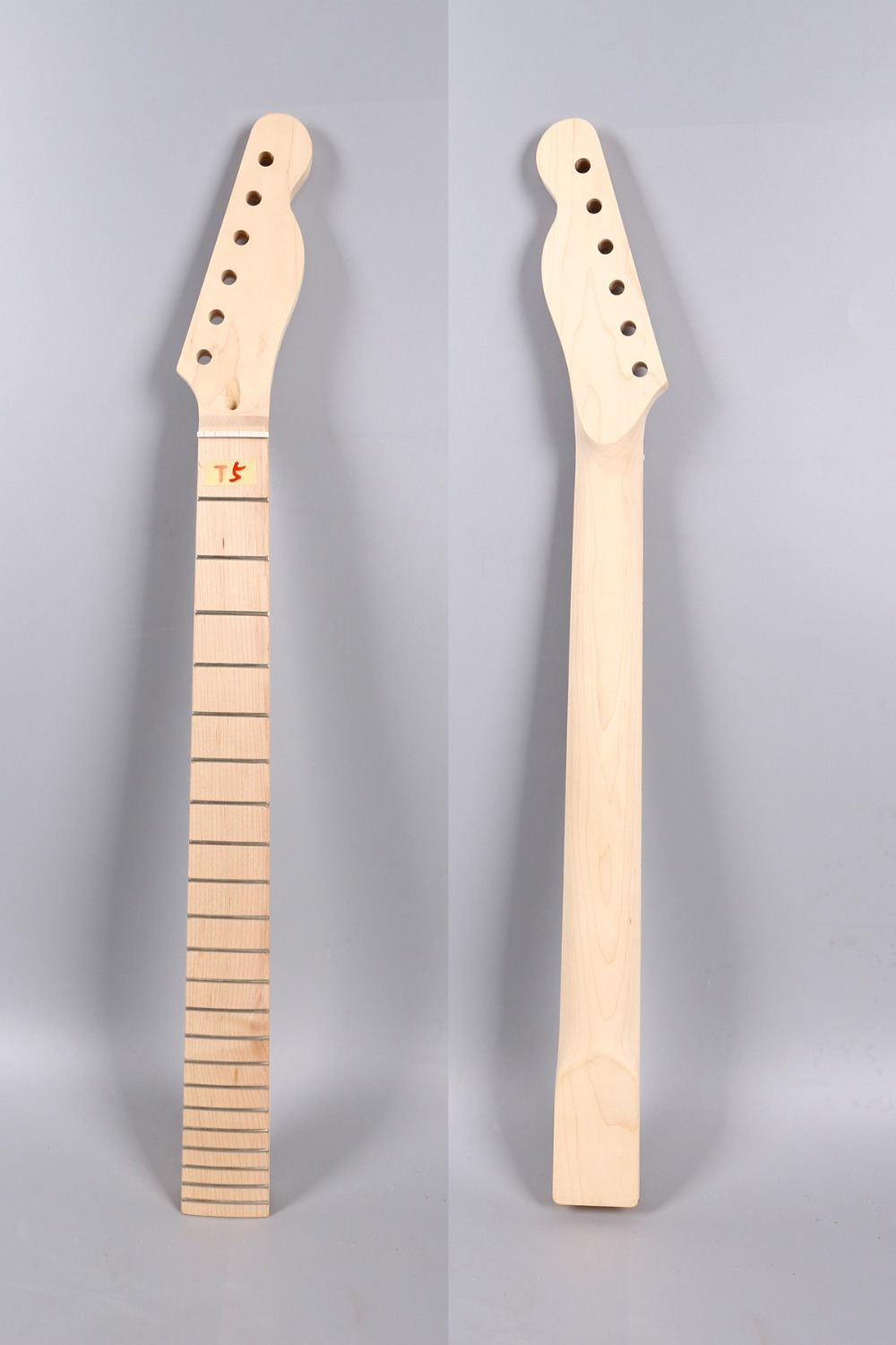 Yinfente electric guitar neck replacement 22 fret Rosewood fretboard Dot inlay 25.5 inch Maple telecaster Tele Neck left hand electric bass guitar neck 21 fret 34 inch maple wood rosewood fretboard 719