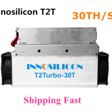 Innosilicon T2T 30T с БП Биткоин BTC BCH Майнер лучше чем Antminer S9 S11 S15 S17 T9+ T15 T17 WhatsMiner M3 M10