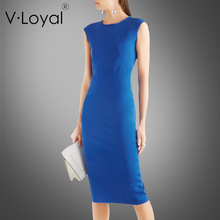 New summer fashion, self-cultivation in the long dress, Europe and America high-end sleeveless, hip step