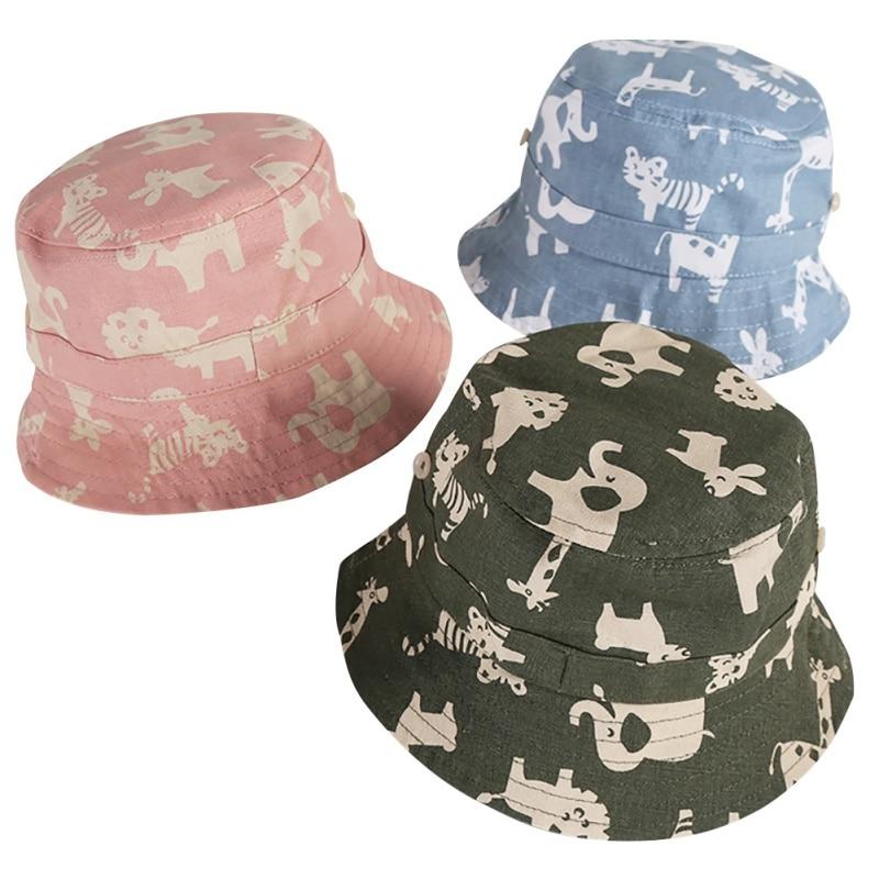 d658e85368a619 Adjustable Baby Hat Summer Girls Cartoon Cute Sunhat Prevent ultraviolet  ray Hat For Boy Girls