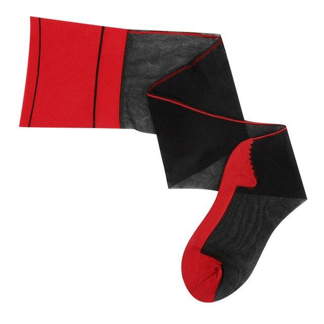BLACK top red