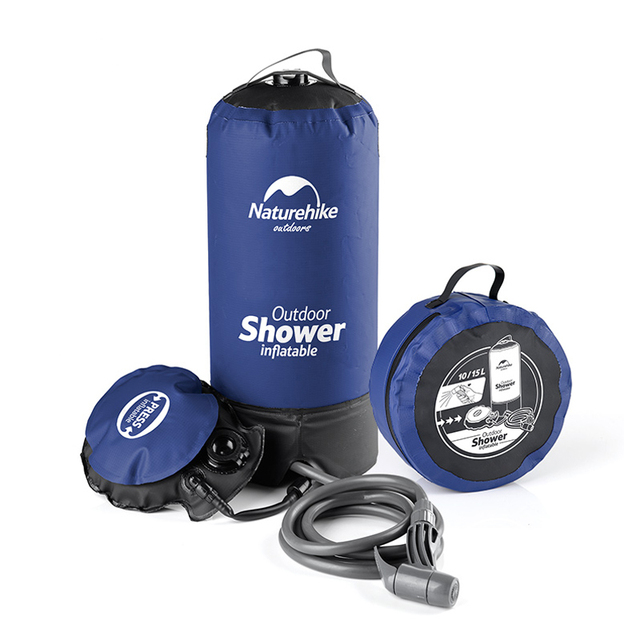 Outdoor Camping Shower Water Bag Pvc Portable Inflatable Bbq Picnic Hiking Travel Kits Storage