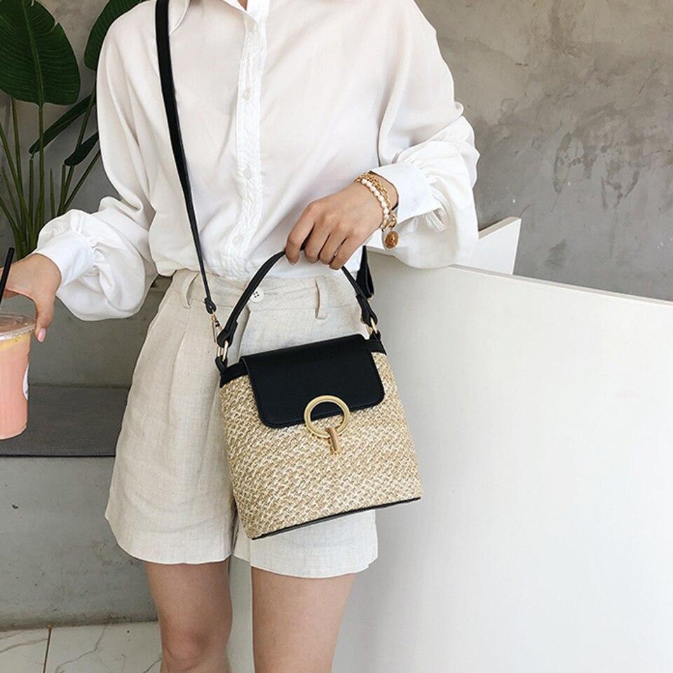 Straw Bucket Bag (22)