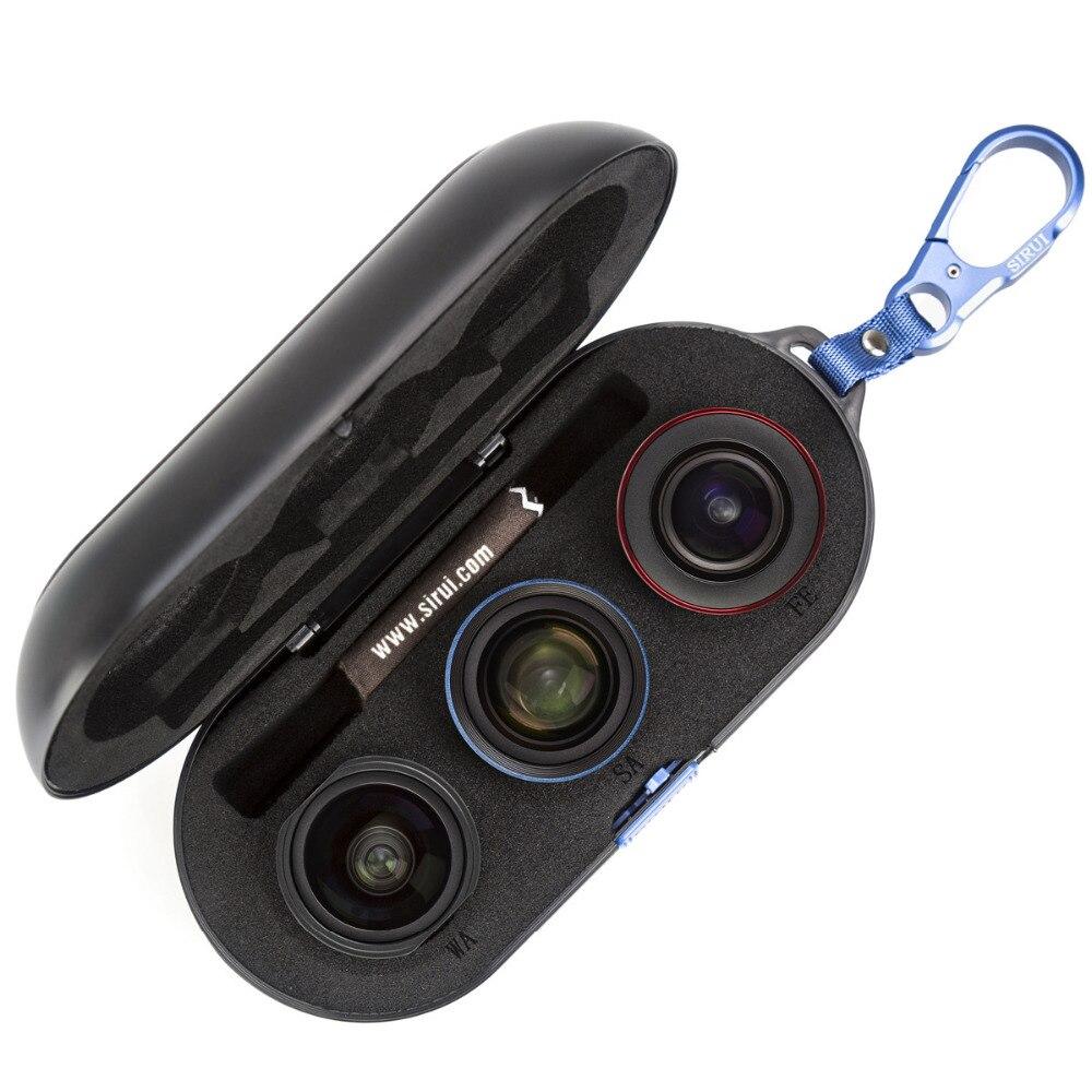SIRUI WPF-01/02/03KBR smartphone lens esterno ad alta definizione SLR set di mirror