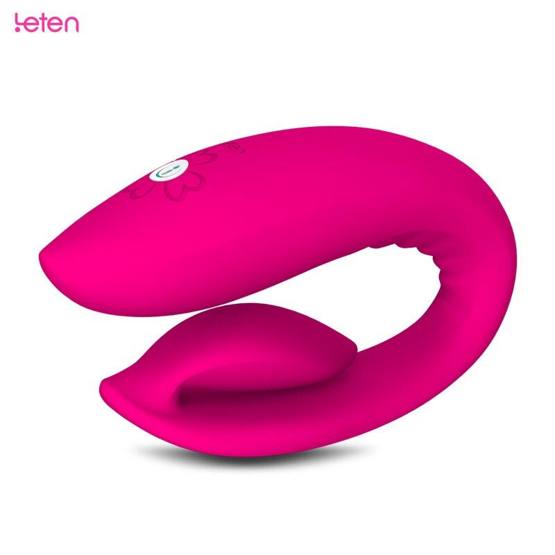 Leten Smartphone App Remote unisex sex toy clitoris vagina stimulus anal plug dildo adult couples game