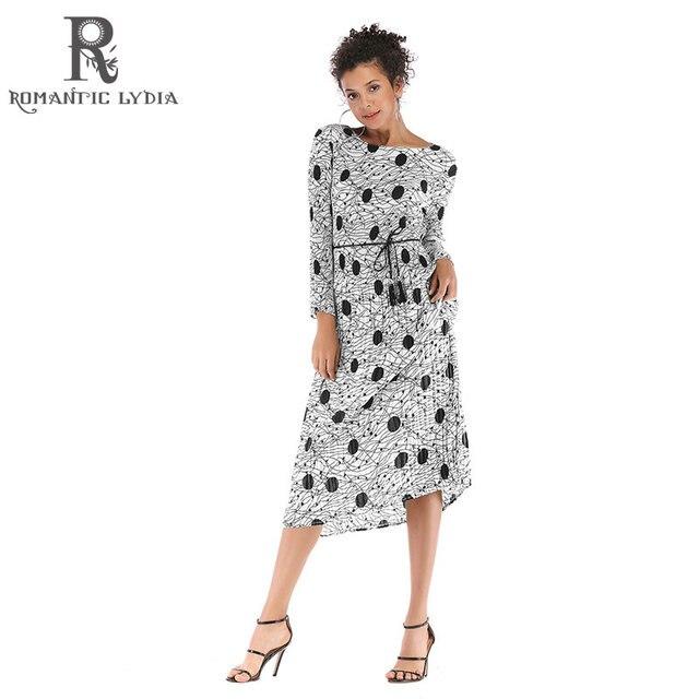 Vintage Polka Dot Dress White Black Printed Retro Bodycon Women ...