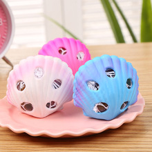 Cute Creative Shell Shape Grape Ball Pinch Decompression Toy Children Novelty Shooting Prop Decoration Gift