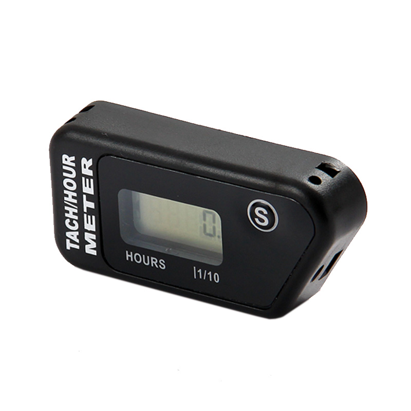 Hour Meter Digital Tachometer for Outboard Motor Lawn Mower Motocross motorcycle marine chainsaw pit bike HM016R