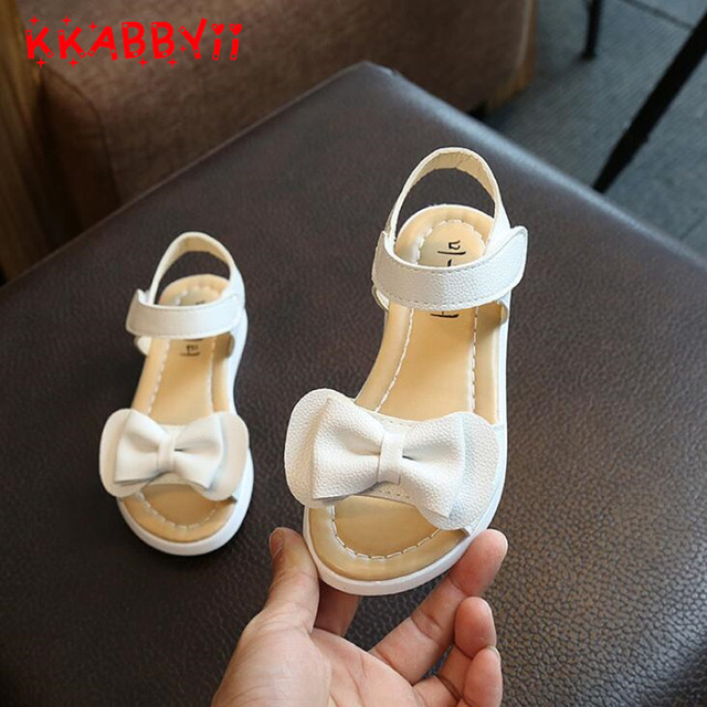 a11f3f4e249575 2018 New Arrival Girls Sandals Fashion Summer Child Shoes High Quality Cute  Girls Shoes Big Bow Design Casual Kids sandals