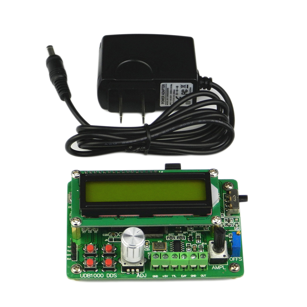 Multi-functional DDS Signal Source Module 5MHz Sine Wave Frequency Signal Generator with 60MHz Frequency Counter udb1002s series dds signal source module