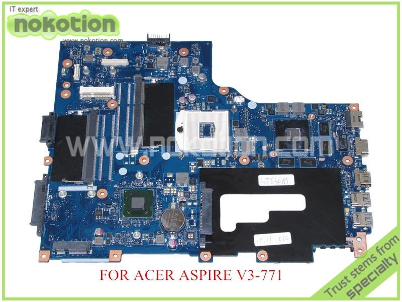 VA70 VG70 Mainboard rev 2 1 NBRYN11001 NB RYN11 001 FOR ACER aspire V3 771 V3