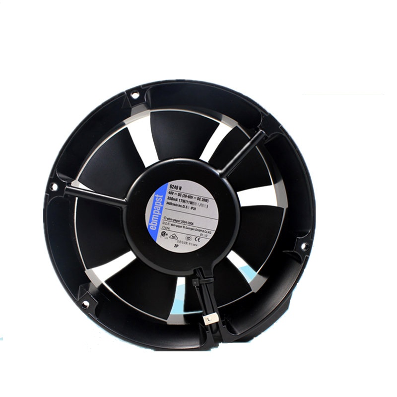 New original 6248N 48V 1725117 cm round aluminum frame axial flow cooling fan new original 3115ps 23t b30 230v 8 10w 8038 aluminum frame axial fan