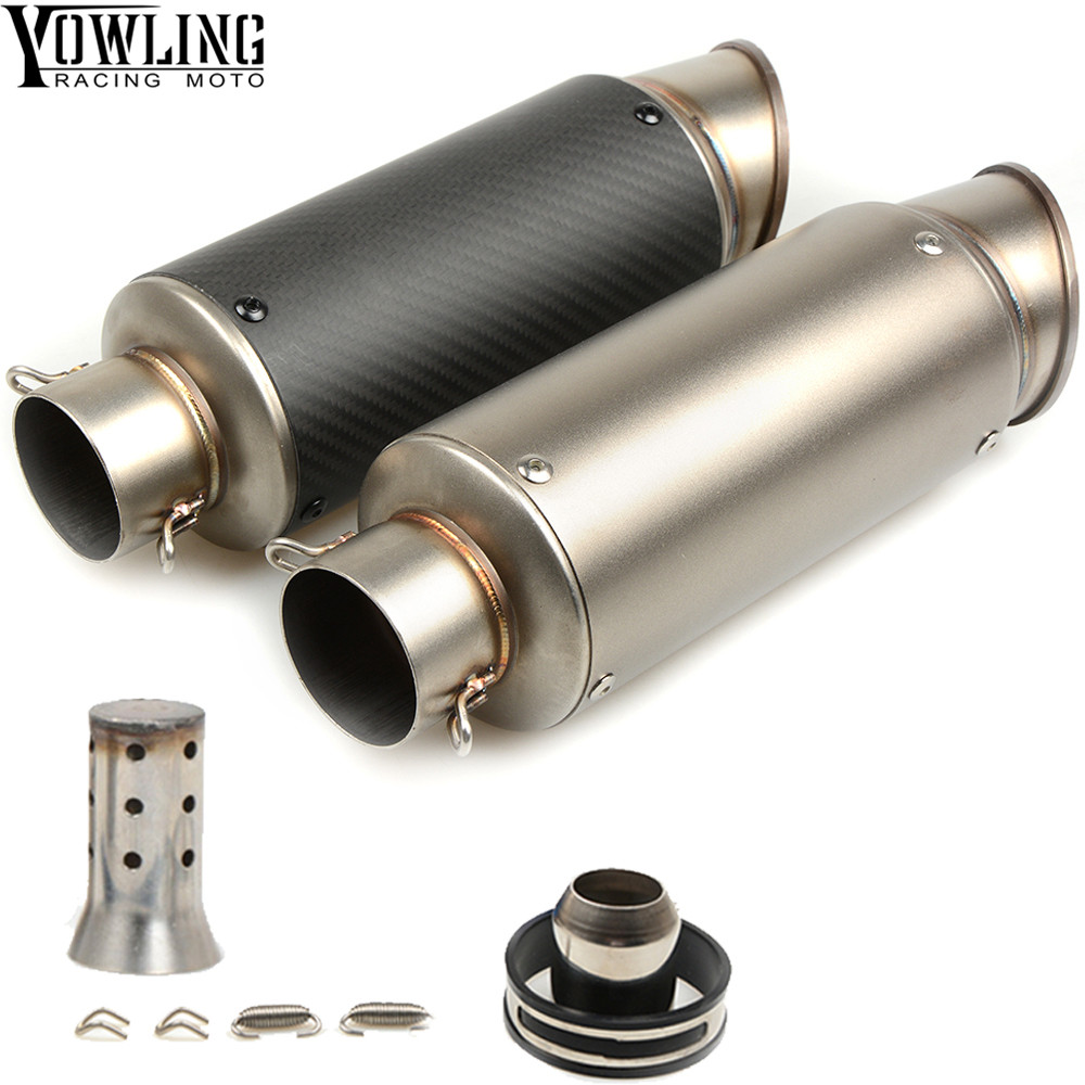 laser mark motorcycle modified muffler carbon fiber exhaust pipe For Yamaha XJ6/DIVERSION XJR 1300/Racer XSR 700 900/ABS laser mark motorcycle modified muffler sc carbon fiber exhaust pipe for honda vtr1000f firestorm vtx1300 x 11 cb400 hornet