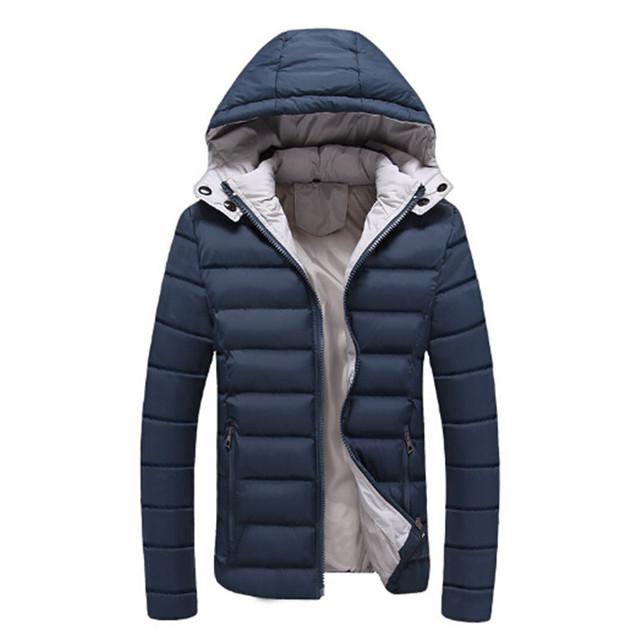Para Baixo Dos Homens quentes Jaquetas Leve À Prova D' Água Casual Casacos Grossos Casacos de Neve de Inverno Com Capuz Jaqueta de Pato Para Baixo Para O Homem 4XL 5XL