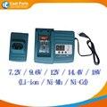 Carregadores de Bateria Ferramenta de poder para Makita 7.2 V-18 V Ni-CD, Ni-MH e Li-ion bateria, DC18RA BL1430 BL1830, de alta qualidade!