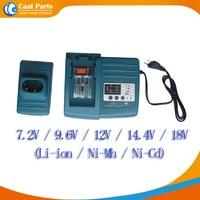 Carregadores de Bateria Ferramenta de poder para Makita 7.2 V-18 V Ni-CD  Ni-MH e Li-ion bateria  DC18RA BL1430 BL1830  de alta qualidade!