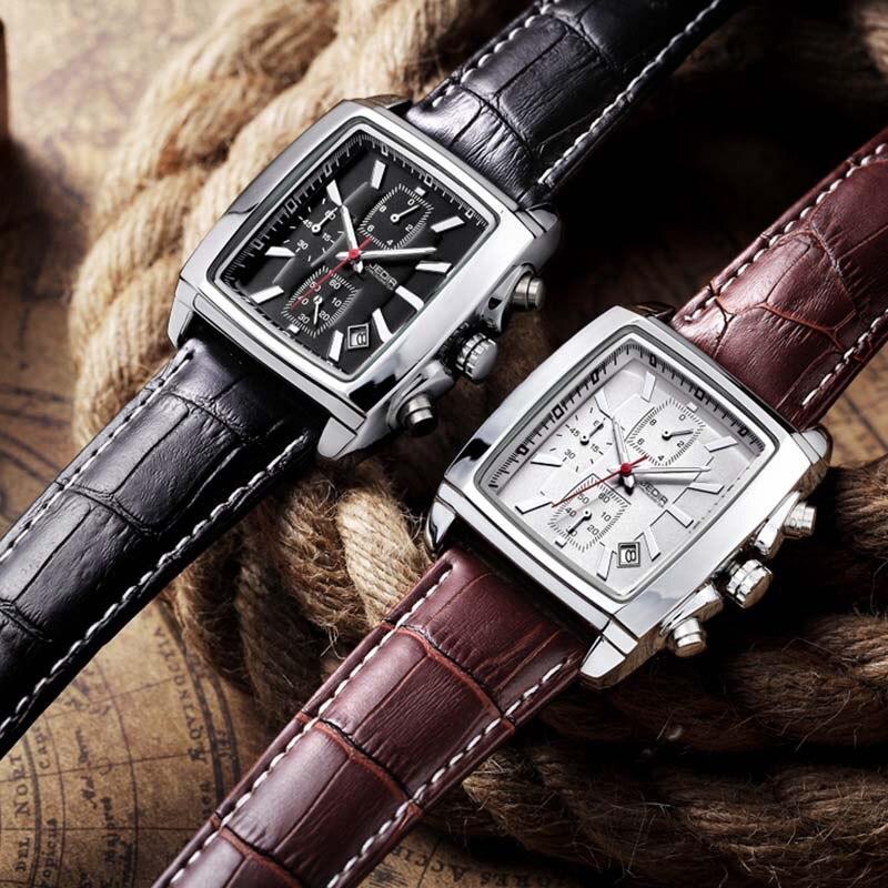 JEDIR Original Watch Men Top Märke Luxury Quartz Militära Klockor - Herrklockor - Foto 4