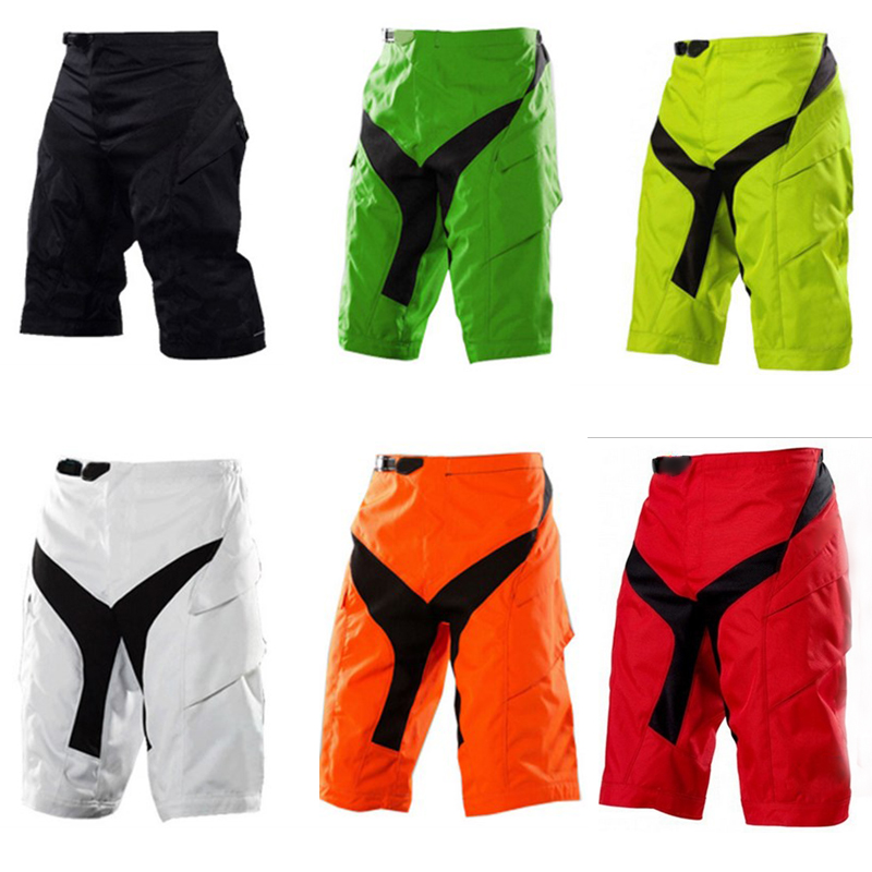 Mens Outdoor Sports Cycling Shorts MTB Downhill Mountain Bike Bicycle Sports Motocross B ...