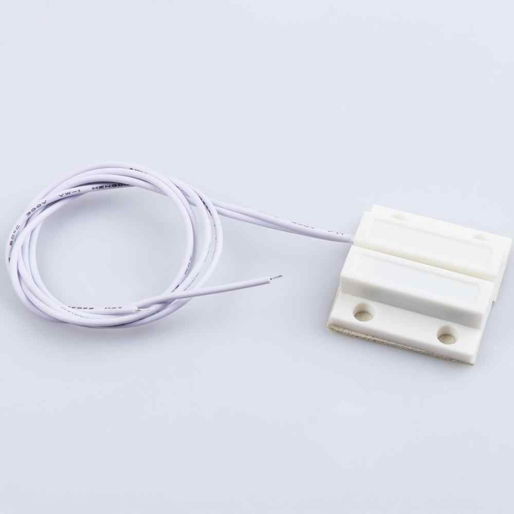 5 par/partia MC-38 przewodowy czujnik drzwi okno przełącznik magnetyczny system alarmowy w domu detektor