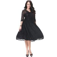 New Fashion European And American Summer Skirt V Lace Big Swing Skirt Show Slim Big Size