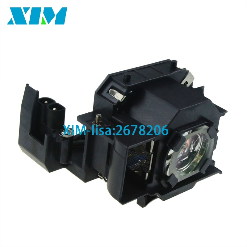 ELPLP34 / V13H010L34 Replacement Projector Lamp with Housing for EPSON EMP-62 / EMP-62C / EMP-63 / EMP-76C / EMP-82 / EMP-X3 compatible projector lamp for epson elplp01 elp 3000 elp 3300 emp 3000 emp 3300