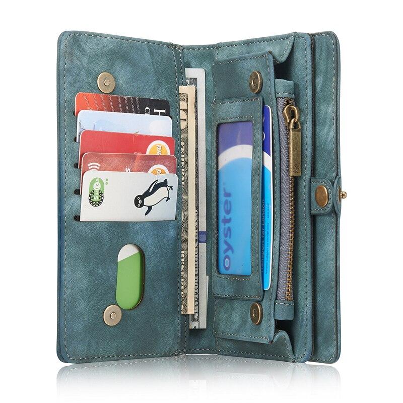 Caseme модные Винтаж кожаный бумажник откидная крышка для Samsung Galaxy S7 G930 Съемная Магнит для S7edge g950 телефон Телефонные чехлы