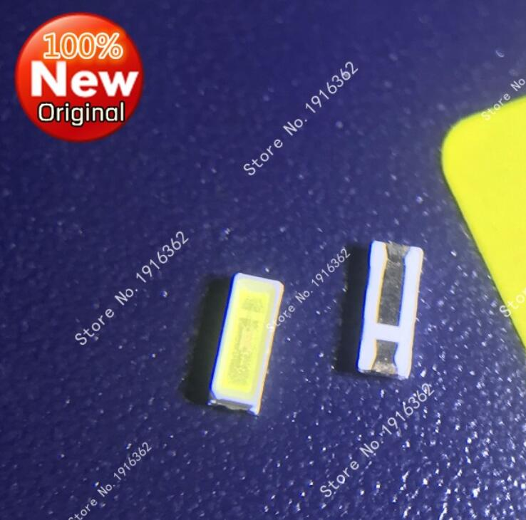 500PCS/lot LED LCD TV backlight lamp 0.2W 3V 4014 lamp cold white 24-26LM SMD patch image
