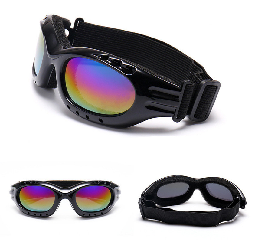 HI BLACK Anti-fog Snow Ski Glasses Candy Color Professional Windproof X400 UV Protection Skate Skiing Goggles