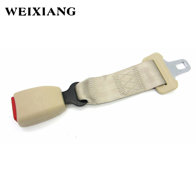 E24 Safety Certified 30cm Car Seat Belt Extension Cars Seatbelt Extenders Auto Belts Longer For